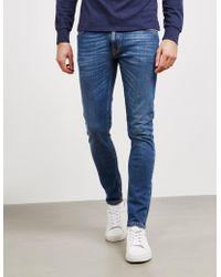 Nudie Jeans Skinny Lin Jeans Blue