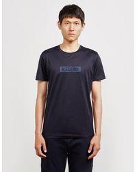Mallet Jasper Short Sleeve T-shirt Navy Blue