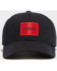 HUGO Patch Logo Cap - Black