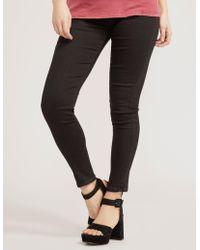 True Religion Womens Runway Legging Black