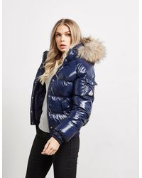Pyrenex Aviator Shiny Jacket - Blue