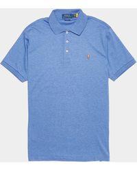Polo Ralph Lauren - Plain Pima Short Sleeve Polo Shirt - Lyst