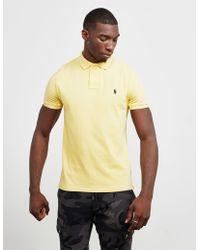 b8e12a55 Polo Ralph Lauren Mesh Short Sleeve Polo Shirt Orange in Orange for ...