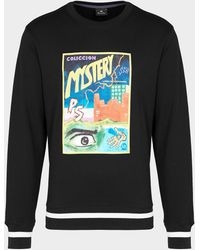PS by Paul Smith Mystery Crew Sweatshirt - Black