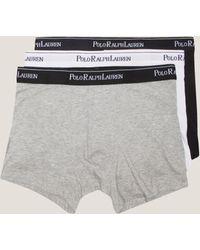 Polo Ralph Lauren - Mens 3-pack Boxer Shorts White - Lyst
