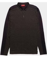 HUGO - Dengaluru Long Sleeve Polo Shirt - Lyst