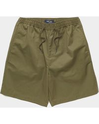Fred Perry Draw Twill Shorts Green