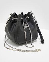 Vivienne Westwood Johna Bucket Bag - Black