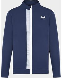 Castore Soft Track Jacket Blue