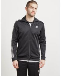 adidas Originals Mens Beckenbauer Full Zip Track Top Black
