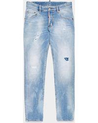 DSquared² Skater Slim Jeans - Blue
