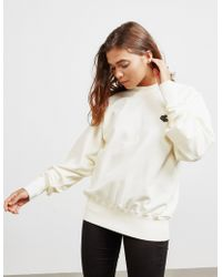 Vivienne Westwood Anglomania Classic Badge Sweatshirt White