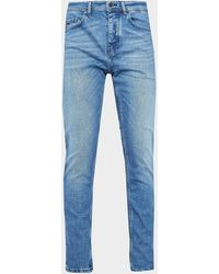 BOSS by HUGO BOSS Taber Stretch Taper Fit Jeans Blue
