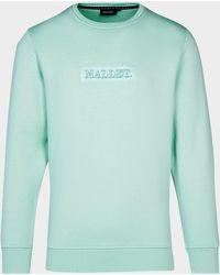 Mallet Jasper Box Sweatshirt Green