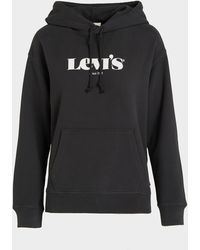 Levi's Levis Logo Hoodie - Black