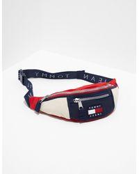 Tommy Hilfiger Heritage Bum Bag Multi - Blue