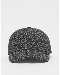 Calvin Klein New York Cap Multi - Black