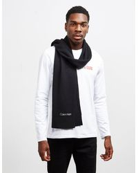 Calvin Klein Wool Scarf - Black
