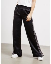 Tommy Hilfiger Icon Flare Track Pants - Online Exclusive Black