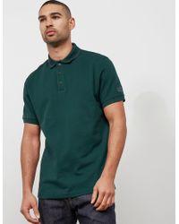 Barbour - Mens International Tipped Short Sleeve Polo Shirt Green - Lyst