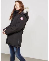 Canada Goose Dawson Padded Parka Jacket Black