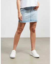 Armani Exchange Zip Skirt - Blue