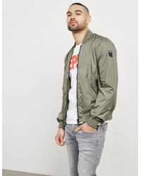 Replay - Mens Lightweight Bomber Jacket - Online Exclusive Green - Lyst