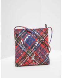 9839b2e2ecbf Vivienne Westwood - Derby Splash Cross Body Bag - Online Exclusive Red -  Lyst