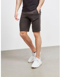 Emporio Armani Basic Fleece Shorts Gray