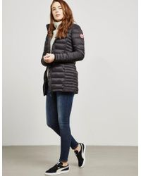 Canada Goose - Womens Brookvale Padded Jacket Black - Lyst