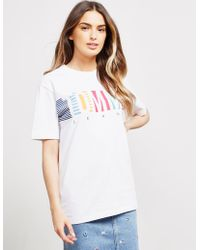 021852b8 Tommy Hilfiger - Colourful Short Sleeve T-shirt White - Lyst