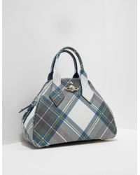 Vivienne Westwood | Womens Derby Medium Dome Bag Blue | Lyst