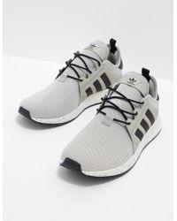 lyst adidas originali swift run sesamo nero / bianco / nero per gli uomini.