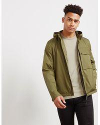 C P Company - Mens Hooded Overshirt Green - Lyst