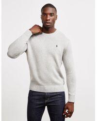Polo Ralph Lauren Heavy Knit Sweater Grey