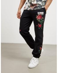 BBCICECREAM - Mens Floral Track Pants - Online Exclusive Black - Lyst