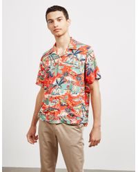Polo Ralph Lauren - Hawaiian-print Short-sleeved Shirt - Lyst