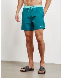 BOSS Starfish Shorts Teal/mint - Blue