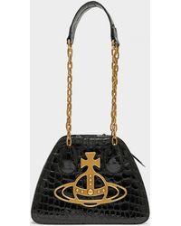 Vivienne Westwood Yasmin Archive Orb Bag - Black