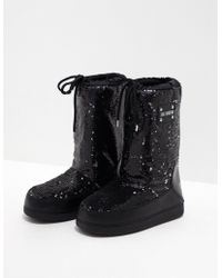 Love Moschino Glitter Boots Black
