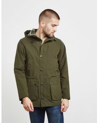 Barbour - Mens Bedale Hooded Jacket Green - Lyst
