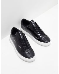 DKNY - Womens Court Slip On Trainers Black - Lyst