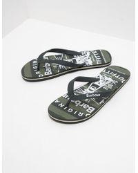 Barbour - Beach Flip Flops - Lyst