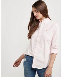 Polo Ralph Lauren - Womens Harper Shirt Pink - Lyst