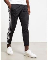 Versus Tape Track Pants Black