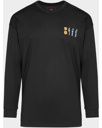 Li-ning Figure Print T-shirt - Black