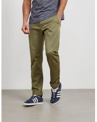Edwin Ed55 Relaxed Tapered Chinos Olive/olive - Green