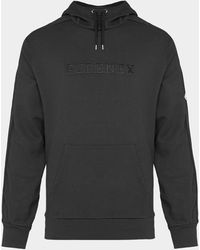 Pyrenex Central Descent Logo Hoodie - Black