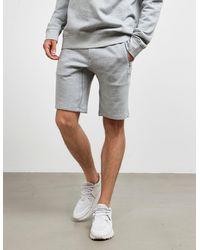 Armani Exchange Basic Fleece Shorts Grey