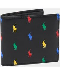 Polo Ralph Lauren Polo Player Wallet Black